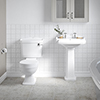 Oxford 4-Piece Traditional Bathroom Suite profile small image view 1