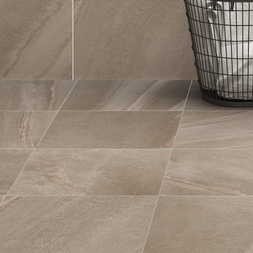 Oceania Stone Grey Floor Tiles Available At Victorian Plumbing