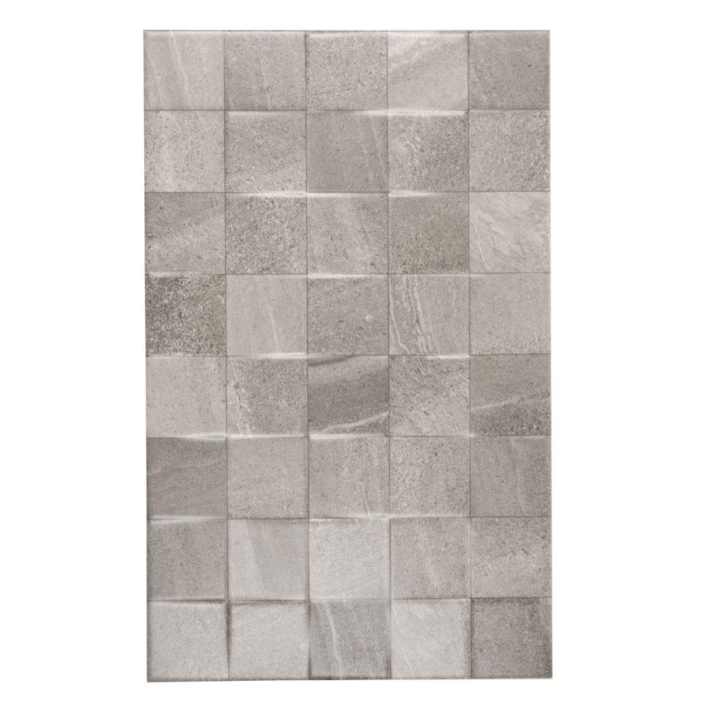 Oceania Stone Grey Mosaic Wall Tiles Large Image