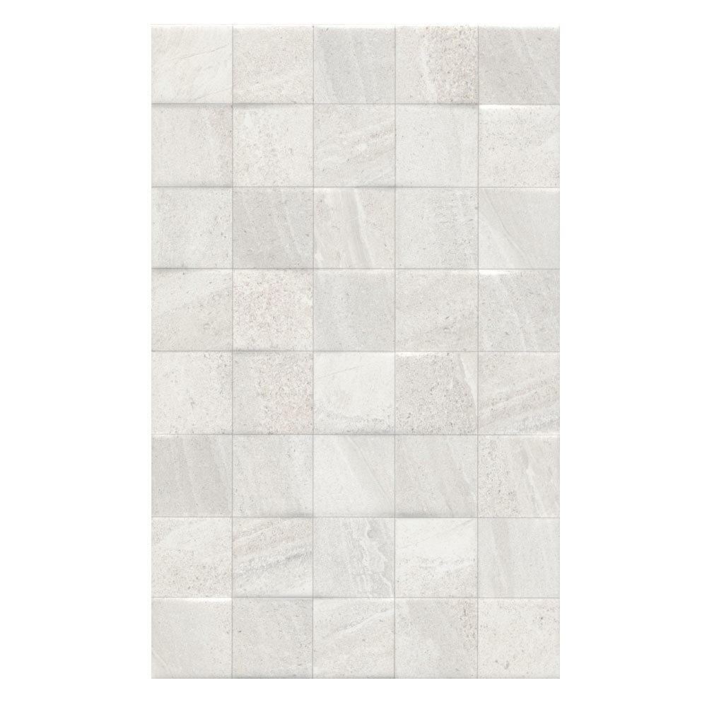 Oceania Stone White Mosaic Wall Tiles Large Image