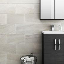 Oceania Stone White Wall Tiles Medium Image