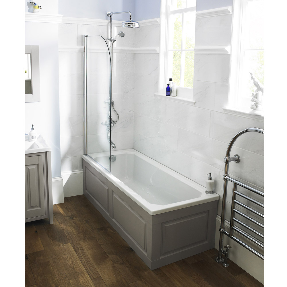 Old London Ascott Single Ended Traditional Bath Feature Large Image