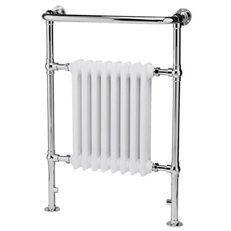 Old London - Chrome & White Finchley Radiator - 965 x 673mm - LDR001