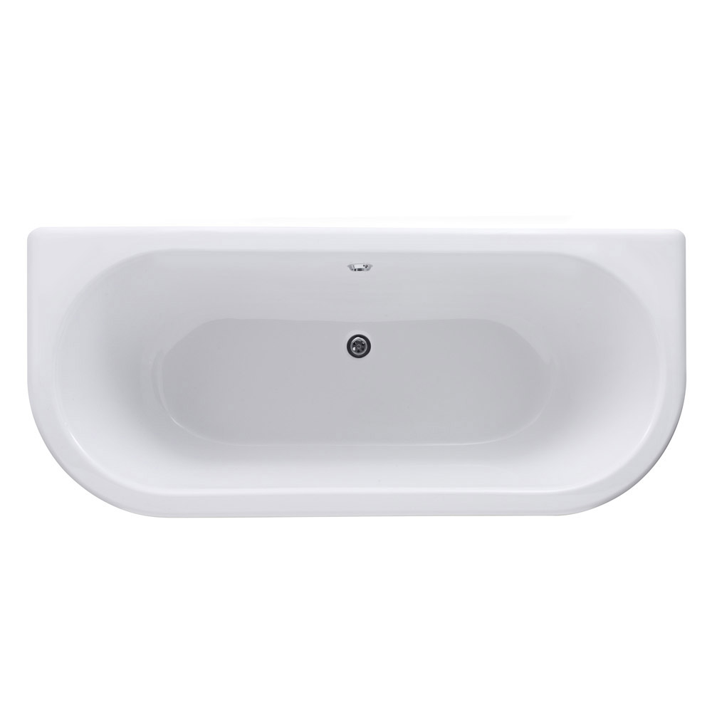Old London - Richmond Low Level Bathroom Suite with Back To Wall Bath In Bathroom Large Image