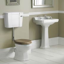 Old London Richmond Low Level Traditional Bathroom Suite Medium Image