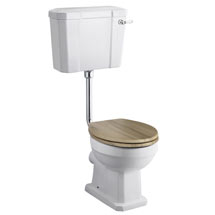 Old London Richmond Low Level Traditional Toilet + Soft Close Seat Medium Image