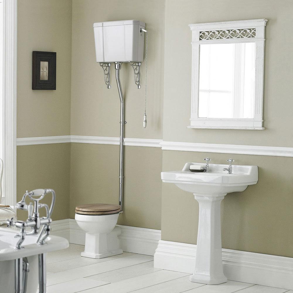 Old London Richmond High Level 4 Piece Bathroom Suite