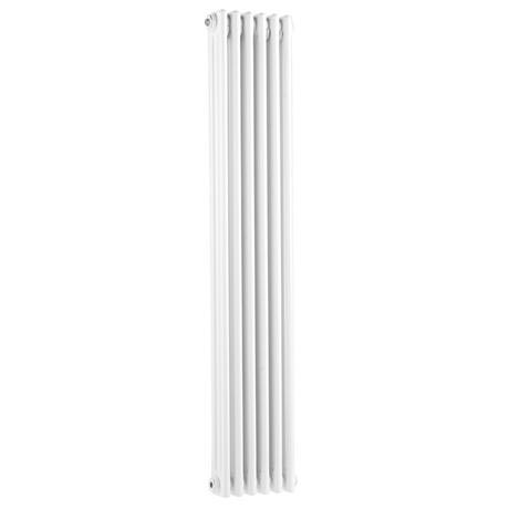 Old London - White Clarendon Radiator - 1500 x 291mm - LDR014