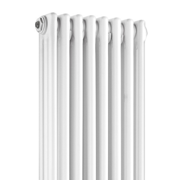 Old London - White Clarendon Radiator - 1800 x 381mm - LDR011 profile large image view 2
