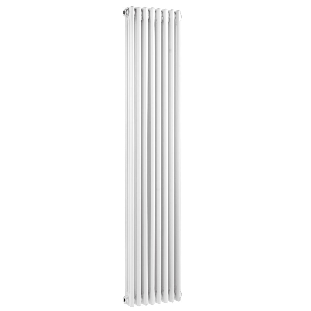 Old London - White Clarendon Radiator - 1800 x 381mm - LDR011 profile large image view 1