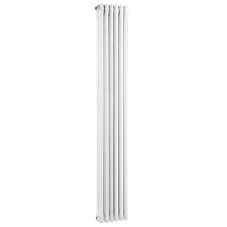 Old London - White Clarendon Radiator - 1800 x 291mm - LDR013