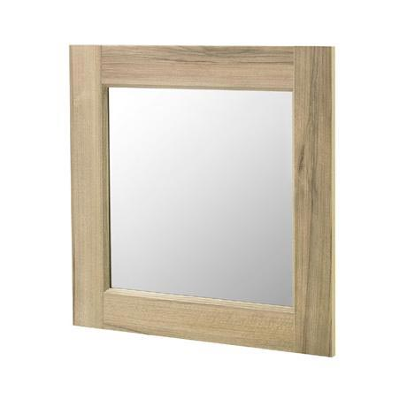 Old London - 600 x 600 Mirror - Natural Walnut - NLV513