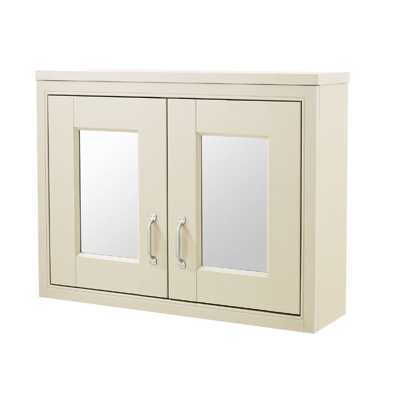 Old London - 800 Mirror Cabinet - Ivory - NLV315 Large Image