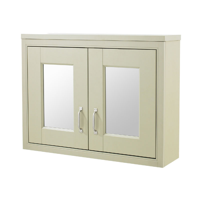 Old London - 800 Mirror Cabinet - Pistachio - NLV215 Large Image