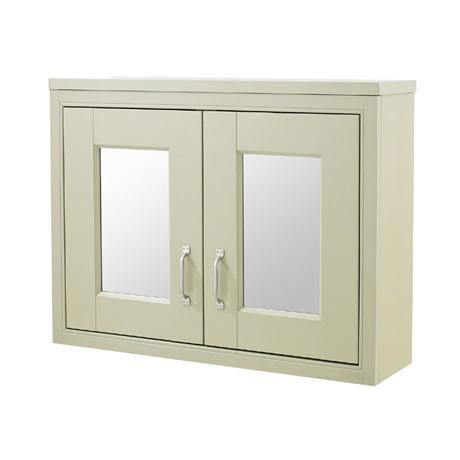 Old London - 800 Mirror Cabinet - Pistachio - NLV215