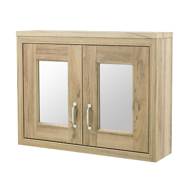 Old London - 800 Mirror Cabinet - Natural Walnut - NLV515 Large Image