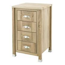 Old London - 450 4-Drawer Unit - Natural Walnut - NLV533 Medium Image