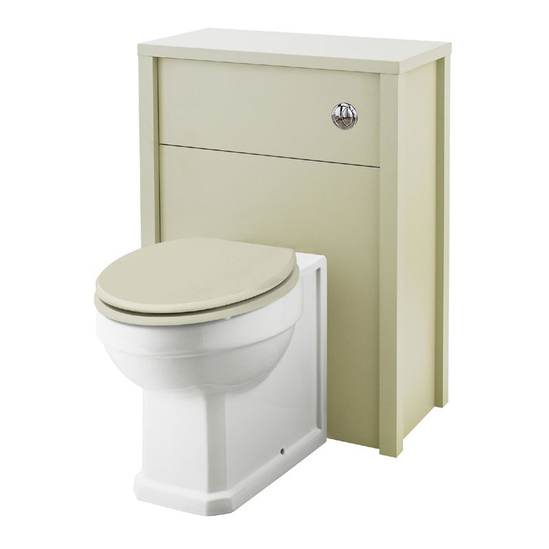 Old London - 600 Back to wall WC Unit - Pistachio - NLV243 Large Image