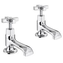 Olympia Art Deco Basin Taps Medium Image