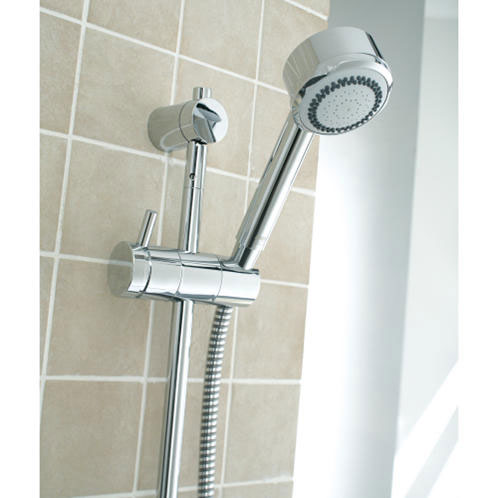 Mira - Orbis Thermostatic Electric Shower profile large image view 2