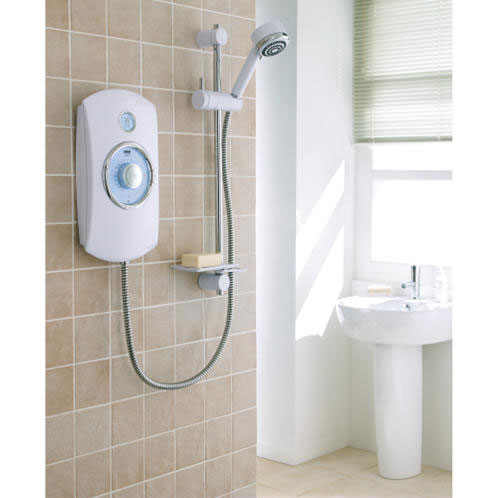 Mira - Orbis Thermostatic Electric Shower profile large image view 3
