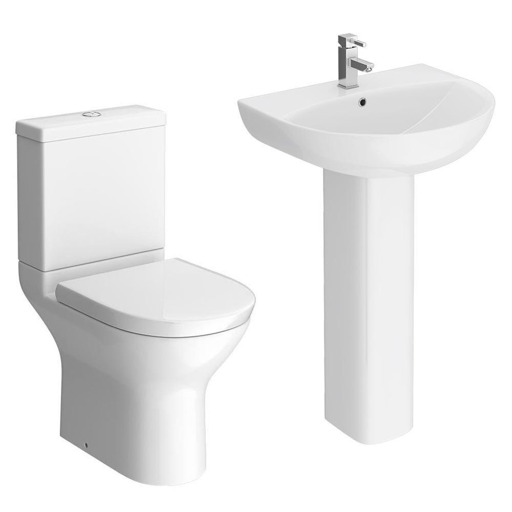Orion 4-Piece Short Projection Modern Bathroom Suite  Feature Large Image