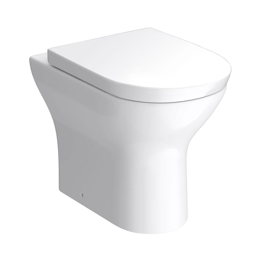 Orion Modern Back To Wall Pan + Soft Close Seat profile large image view 1