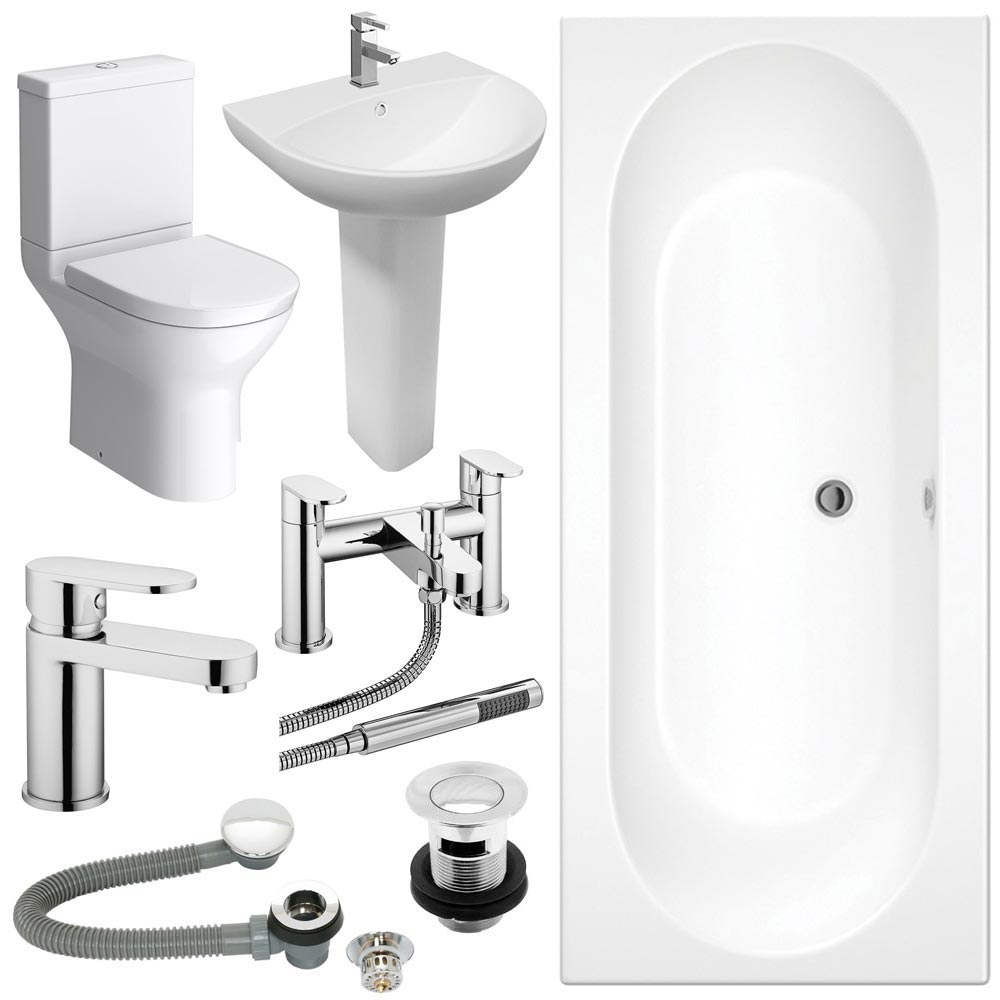 Orion Complete Bathroom Suite Package Large Image