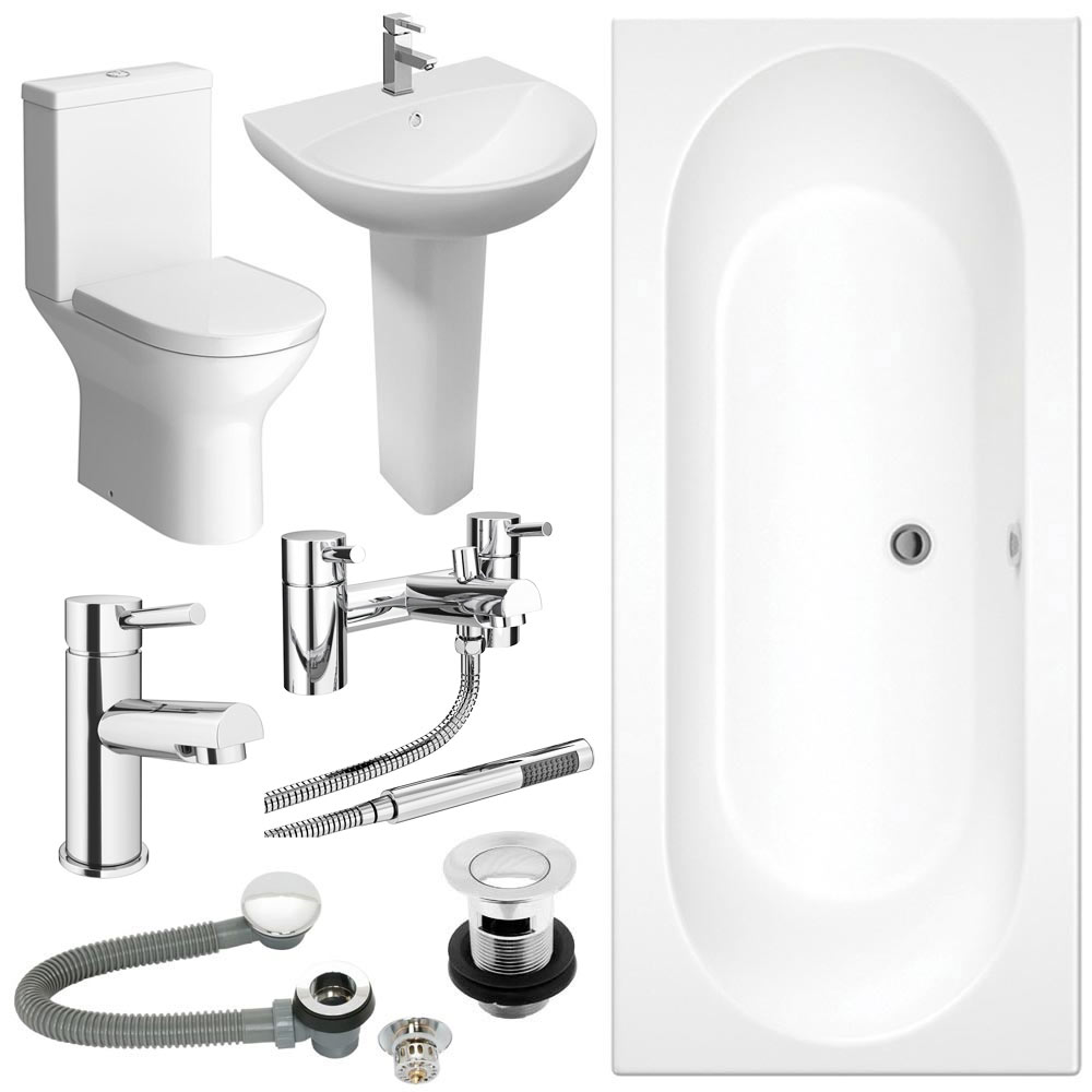 Orion Complete Bathroom Suite Package profile large image view 1