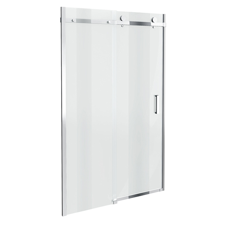 Orion Frameless Sliding Shower Door - 1000mm Wide