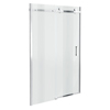 Orion Frameless Sliding Shower Door - 1000mm Wide profile small image view 1