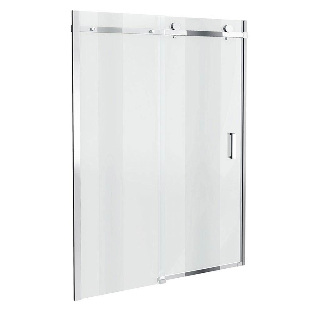 Orion Frameless Sliding Shower Door - 1600mm Wide Large Image