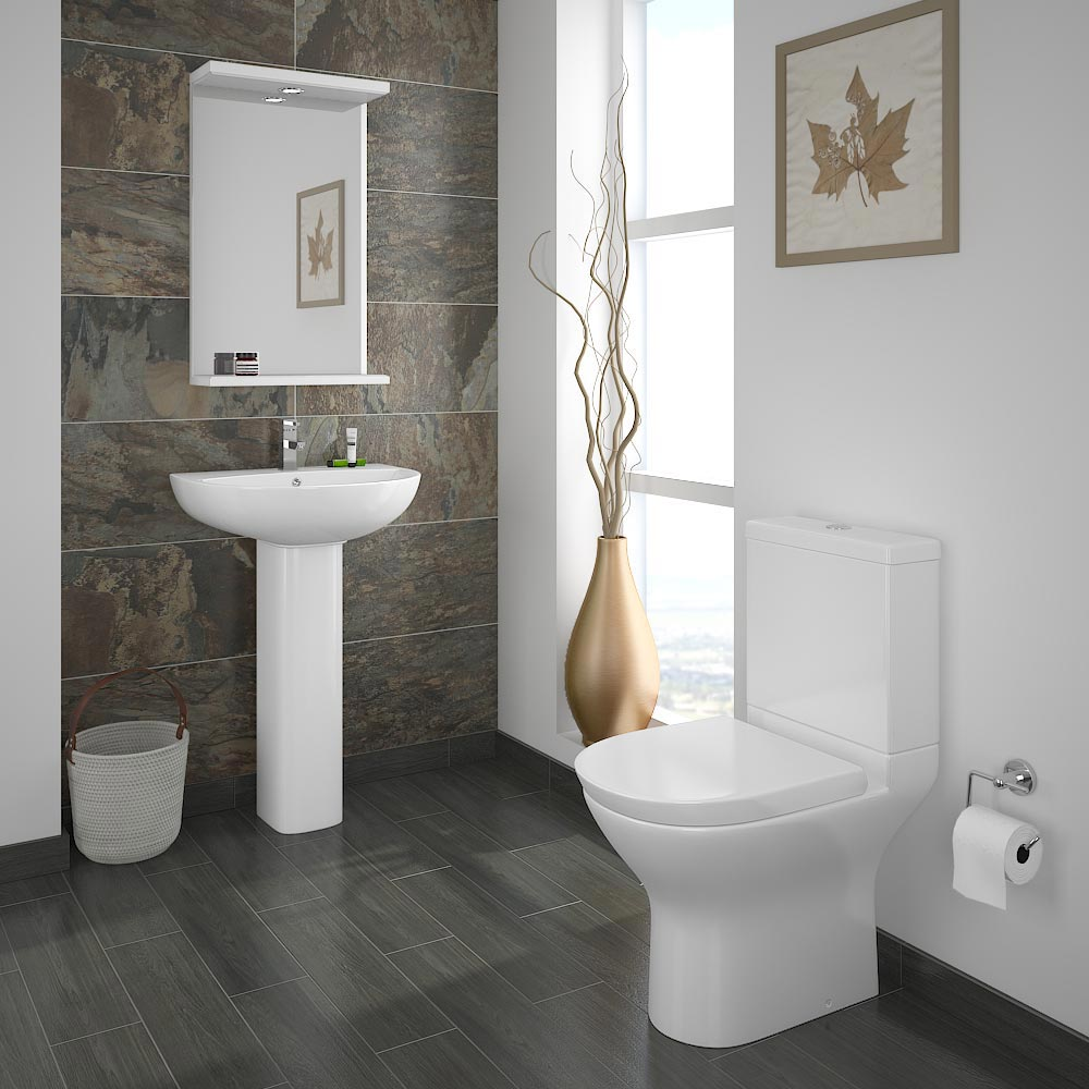 Orion 4 piece bathroom suite available from victorian for 4 piece bathroom designs