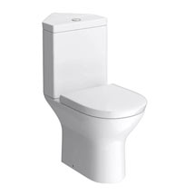 Orion Modern Corner Toilet + Soft Close Seat Medium Image