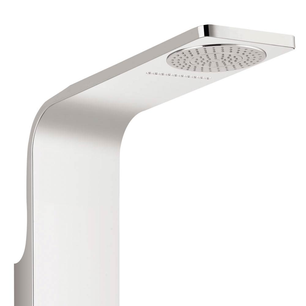 Orion Multi-Function Shower Tower Panel - Silver profile large image view 4