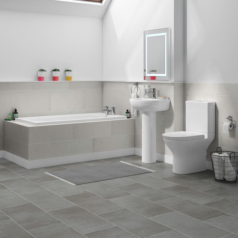 Orion Small 5-Piece Bathroom Suite | Victorian Plumbing UK