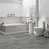 Orion Small 5-Piece Bathroom Suite profile small image view 1