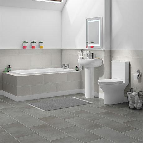 Orion Small 5 Piece Bathroom Suite Victorian Plumbing Uk