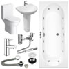 Orion Spa Complete Bathroom Suite Package profile small image view 1