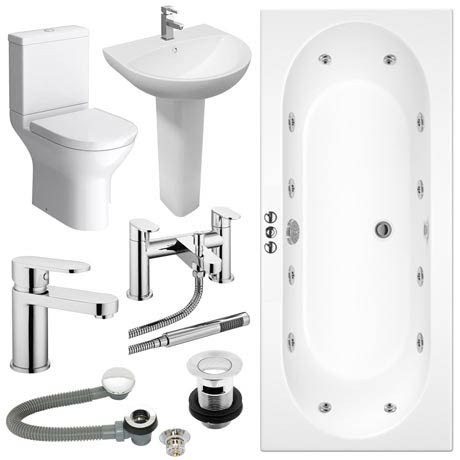 Orion Spa Complete Bathroom Suite Package