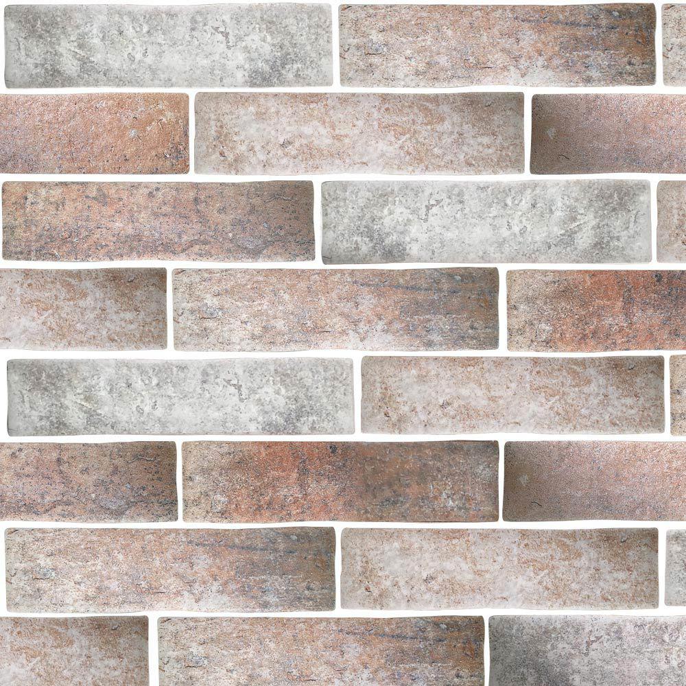 Orlando Rustic Porcelain Wall Tile - 75 x 300mm Large Image