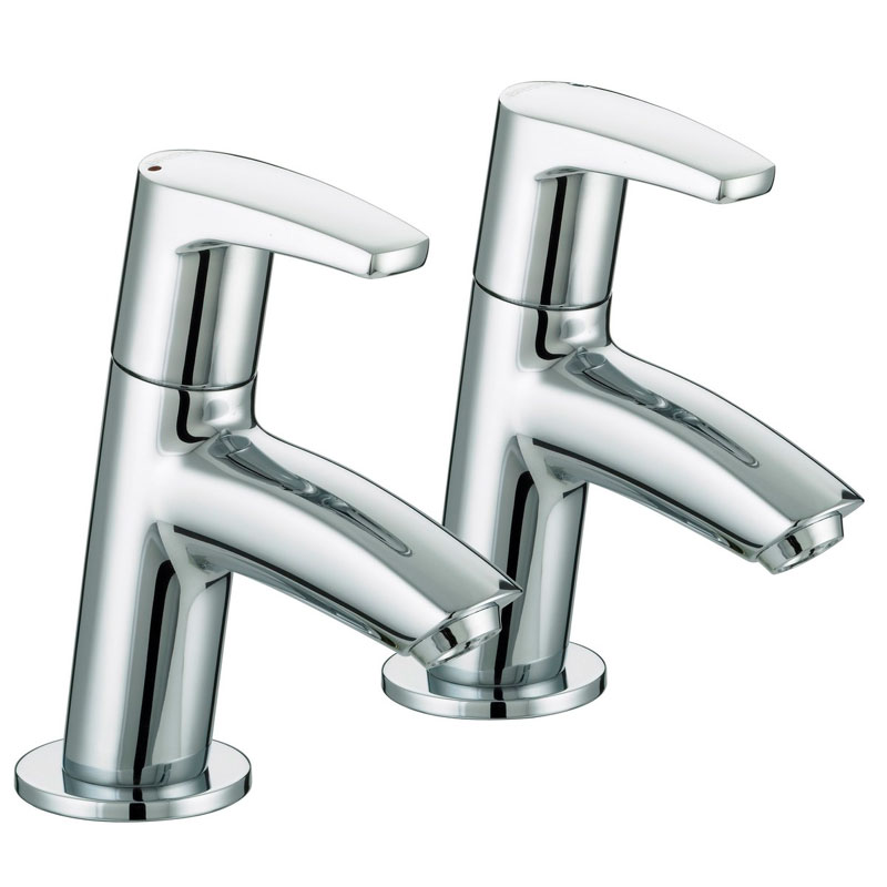 Bristan - Orta Basin Taps - Chrome - OR-1/2-C Large Image
