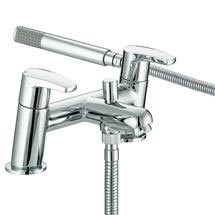 Bristan - Orta Bath Shower Mixer - Chrome - OR-BSM-C Medium Image