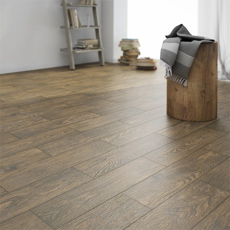 Oslo Dark Wood Tiles - Wall and Floor - 150 x 600mm