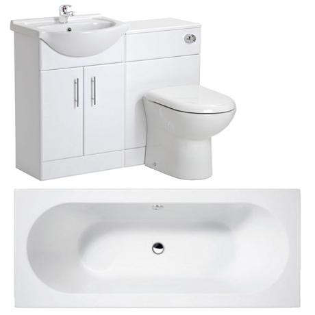 Otley 5 Piece Vanity Unit Bathroom Suite