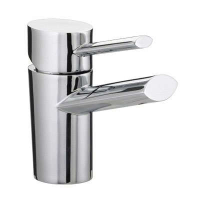 Bristan - Oval 1 Hole Bath Filler - Chrome - OL-1HBF-C Large Image