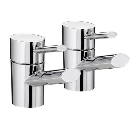 Bristan - Oval Basin Taps - Chrome - OL-1/2-C