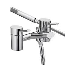 Bristan - Oval Bath Shower Mixer - Chrome - OL-BSM-C Medium Image