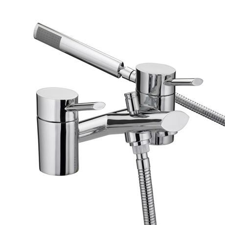 Bristan - Oval Bath Shower Mixer - Chrome - OL-BSM-C