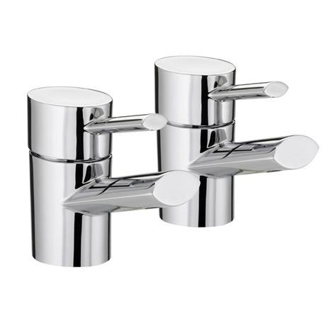 Bristan - Oval Bath Taps - Chrome - OL-3/4-C